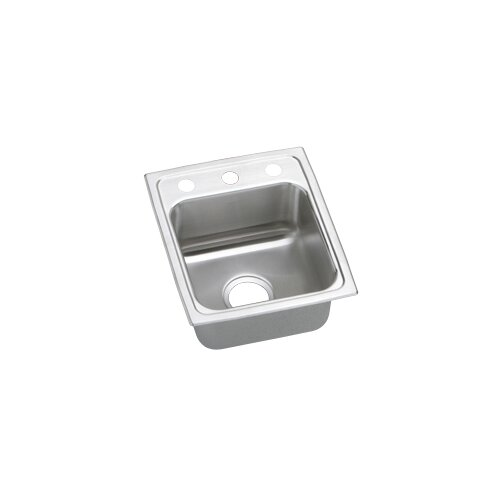 "Elkay Gourmet 15"" x 17.5"" Bowl Kitchen Sink"