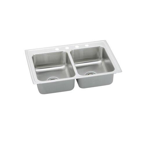 """Elkay Gourmet 33"""" x 21.25"""" x 7.5"""" Kitchen Sink"""