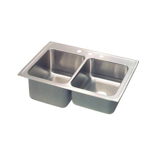 "Elkay Gourmet 33"" x 22"" x 9.13"" Kitchen Sink"