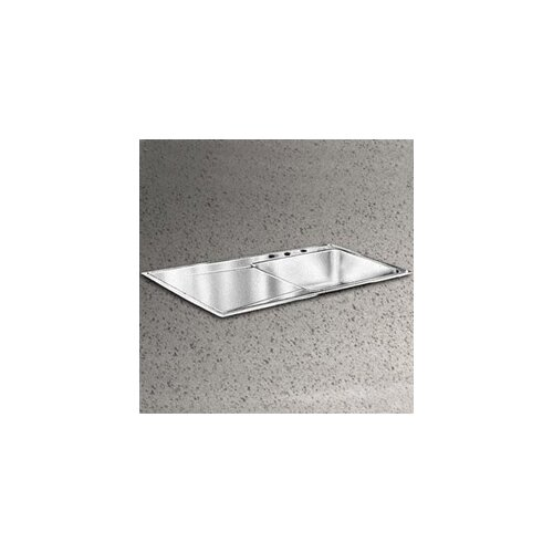 "Elkay Gourmet 43"" x 22"" Right Side Kitchen Sink"