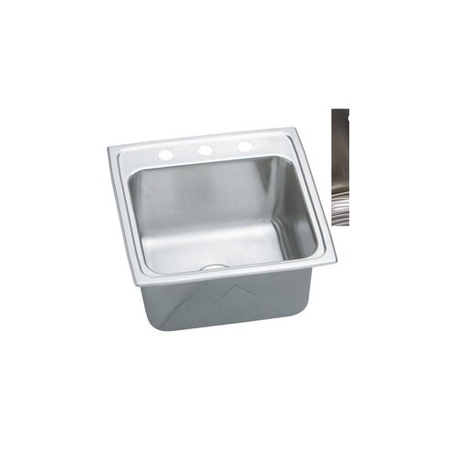 "Elkay Gourmet 19.5"" x 19"" E-Dock Kitchen Sink"