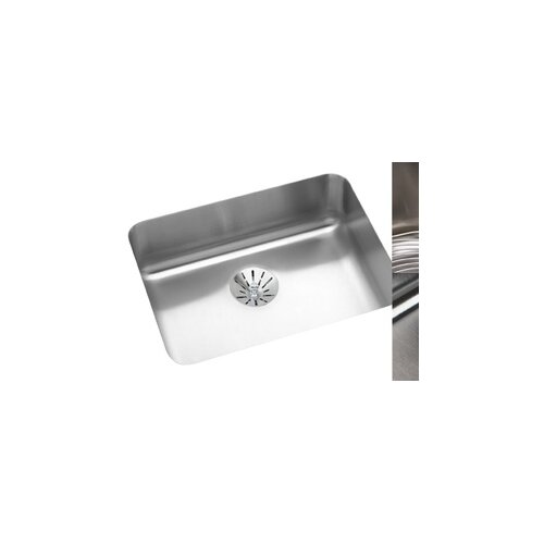 "Elkay Gourmet 22.5"" x 17.5"" Perfect Drain E-Dock Kitchen Sink"