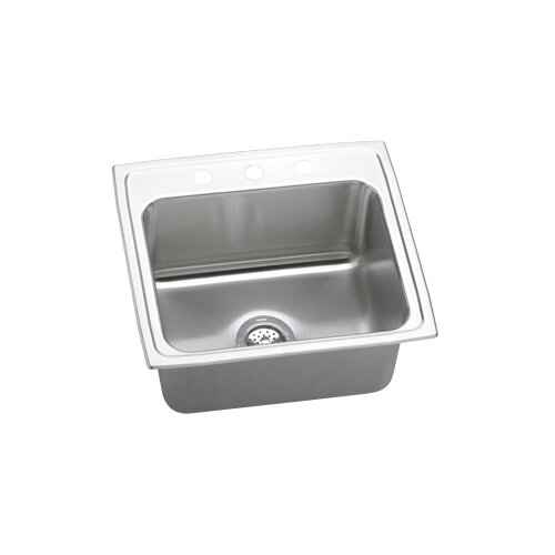 "Elkay Gourmet 22"" x 19.5"" x 10.13"" Top Mount Kitchen Sink"