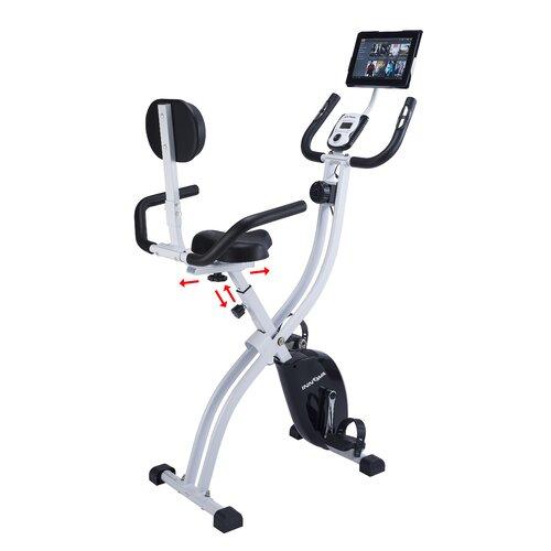 Innova XBR450 Dual Function Folding Upright/Recumbent Bike with iPad / Tablet Holder