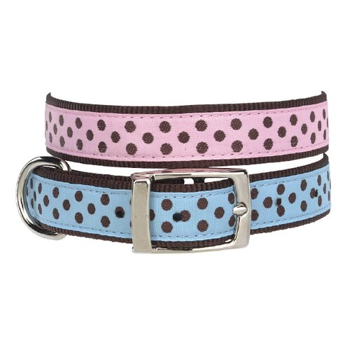 Pastel Polka Dot Dog Collar