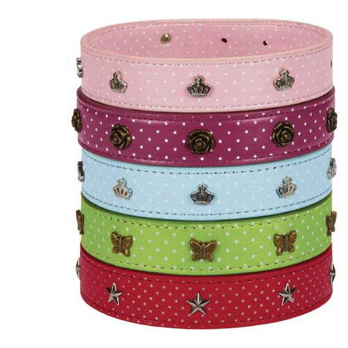 East Side Collection Canine Charmers Dog Collar