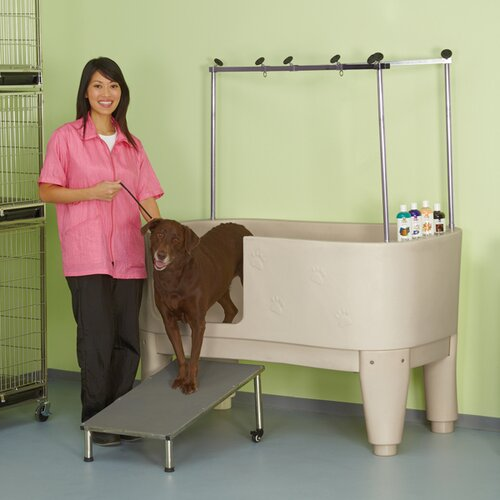 Master Equipment Polypro Dog Grooming Tub Amp Reviews Wayfair