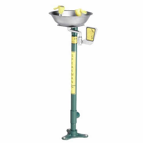 Speakman Traditional Series Pedestal Mount Eye Washes
