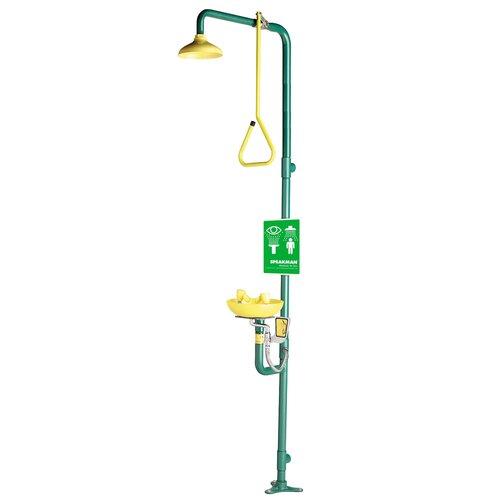 Speakman Safe-T-Zone Traditional Series Floor Mount Emergency Shower