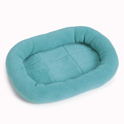 Bright Terry Dog Crate Donut Dog Bed