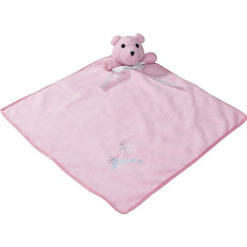 Snuggle Bear Dog Baby Blanket