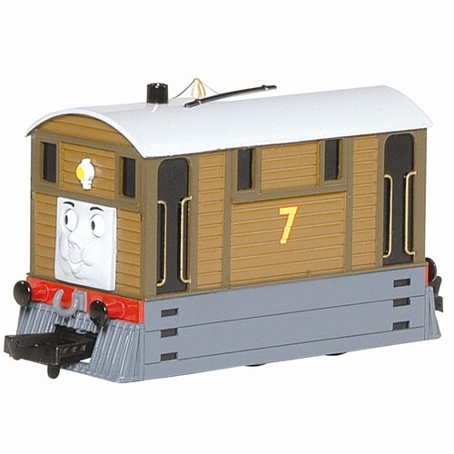Bachmann Trains Thomas and Friends - Toby Tram Engine with Moving Eyes