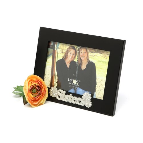 Lawrence Frames Silver Sentiments Sisters Picture Frame
