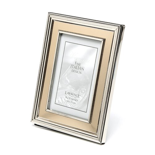 Lawrence Frames Brushed Gold Inner Panel Metal Picture Frame