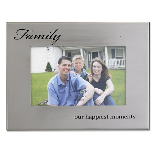 Metal Family Picture Frame