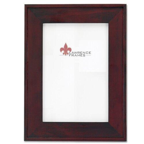 Lawrence Frames Flat Wood Picture Frame