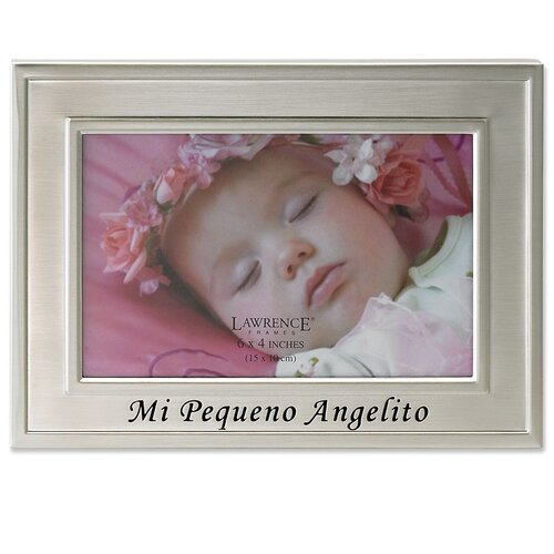 Spanish Sentiments Mi Pequeno Angelito Picture Frame