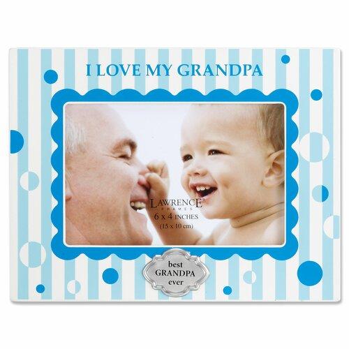 Lawrence Frames I Love My Grandpa Horizontal Picture Frame