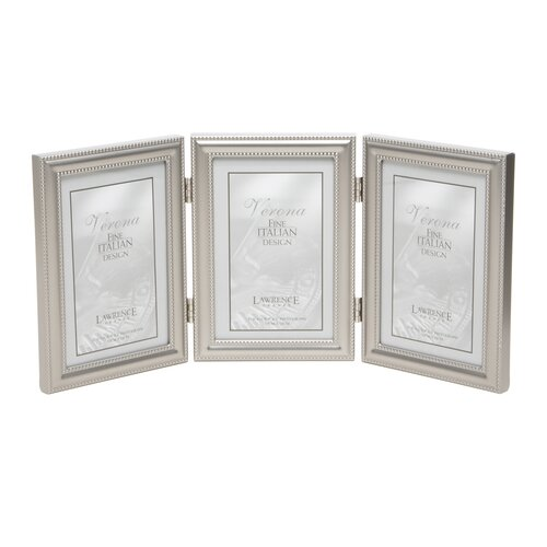 Lawrence Frames Hinged Triple Vertical Picture Frame