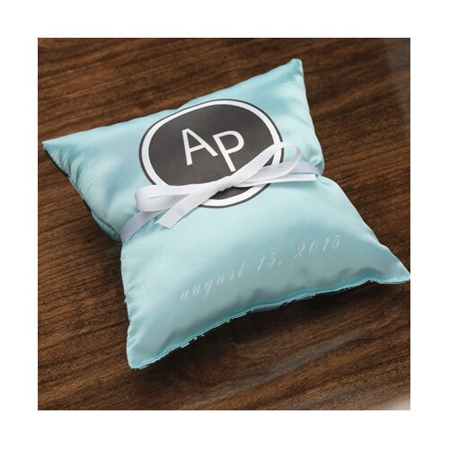 Personalized Tangent Ring Pillow