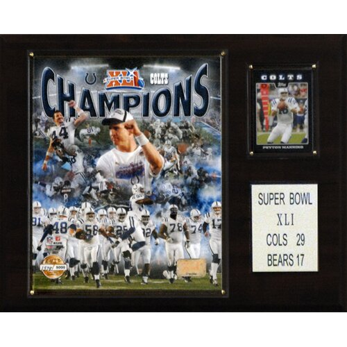 C & I Collectibles NFL Champions Plaque