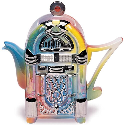 One Cup 0.25-qt. Juke Box Teapot
