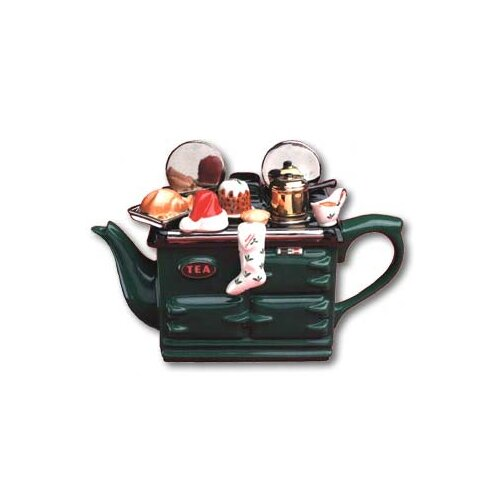 TeaPottery Xmas Aga Tea Pot