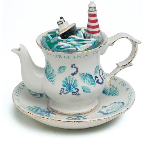 Mid Size 2 Cup Teapots Storm in A Teapot