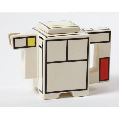 Mondriaan 1-qt. Creamer / Small Teapot