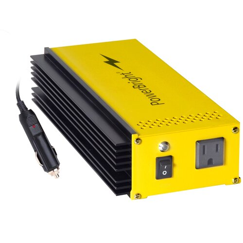 Power Bright 12V DC to 110V AC Pure Sine 300W Power Inverter
