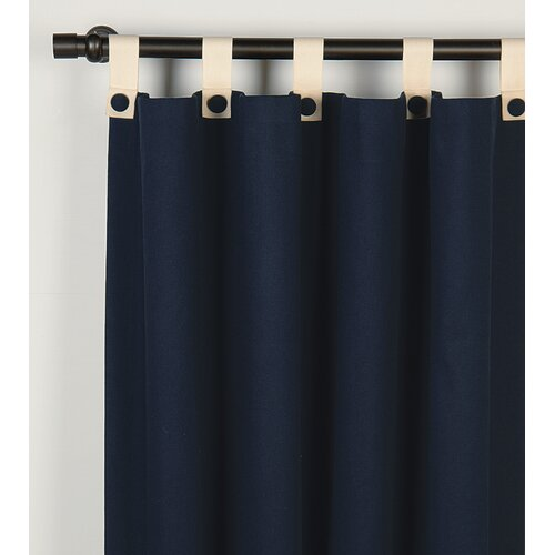 Niche Presley Schooner Cotton Grommet Curtain Single Panel