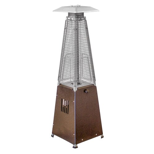 az patio heaters portable glass gas patio heater