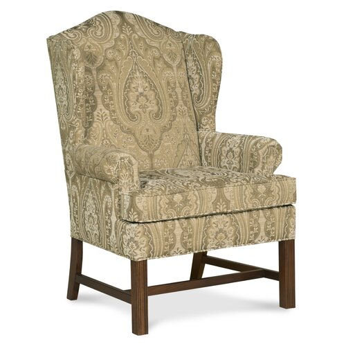 Fairfield Chair Chippendale Wingback Chair Reviews Wayfair