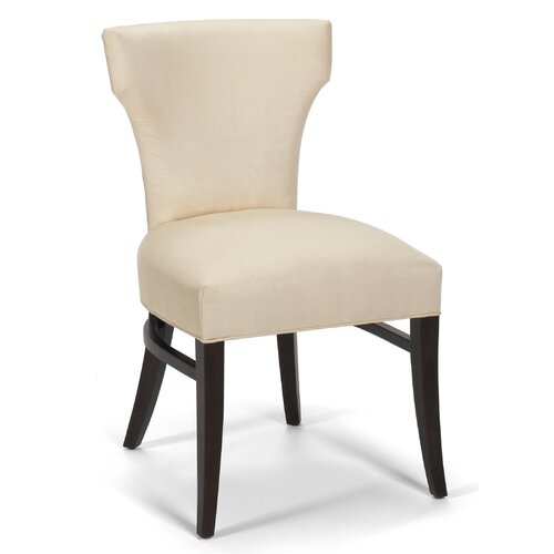Tapered Leg Curved Back Side Chair