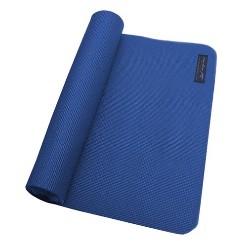Zenzation Athletics Premium Yoga Mat in Navy Blue