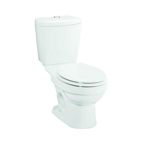 Karsten Front 0.8 GPF / 1.6 GPF Round 2 Piece Toilet