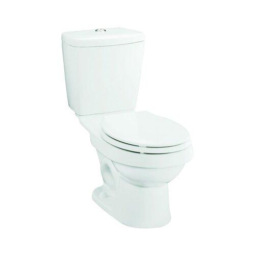Karsten 0.8 GPF / 1.6 GPF Elongated 2 Piece Toilet