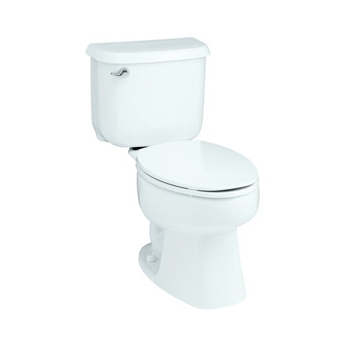 Windham 1.6 GPF Round Front 2 Piece Toilet