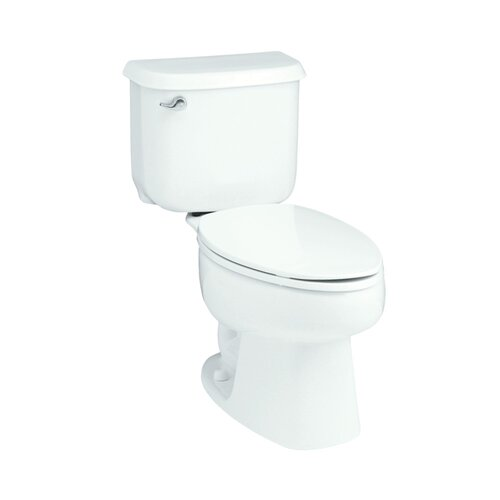 Sterling by Kohler Windham 1.6 GPF Elongated 2 Piece Toilet