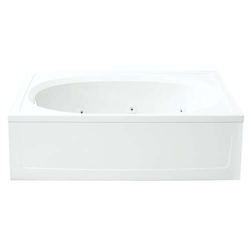"Sterling by Kohler Tranquility 42"" Reversible Whirlpool Tub"