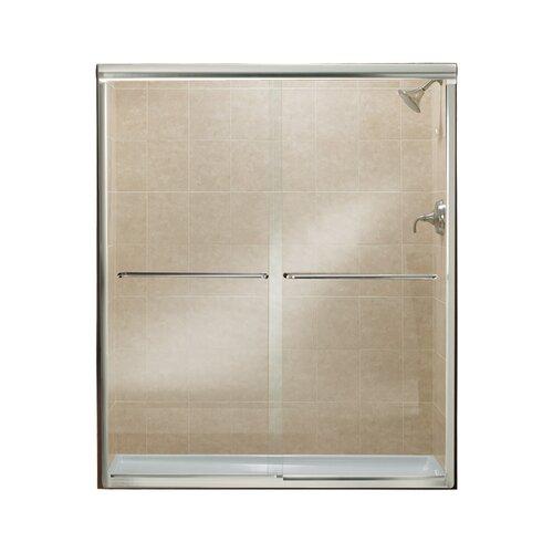 """Kohler Sterling Sliding Shower Doors: Sterling By Kohler Finesse 70.06"""" X 57"""" Sliding Frameless"""