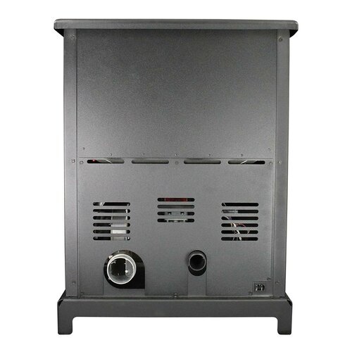 United States Stove Company Large 2,000 Square Foot Pellet Heater Stove with Ash Pan
