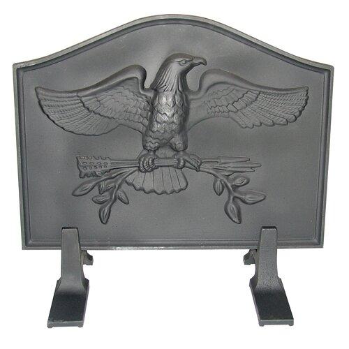 United States Stove Company Eagle Cast Iron Fireback