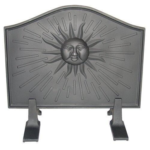 United States Stove Company Sun Cast Iron Fireback