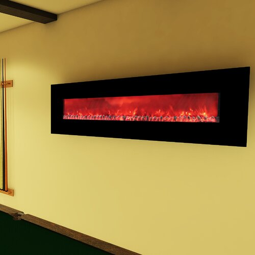 United States Stove Company Widescreen Electric Wall Fireplace