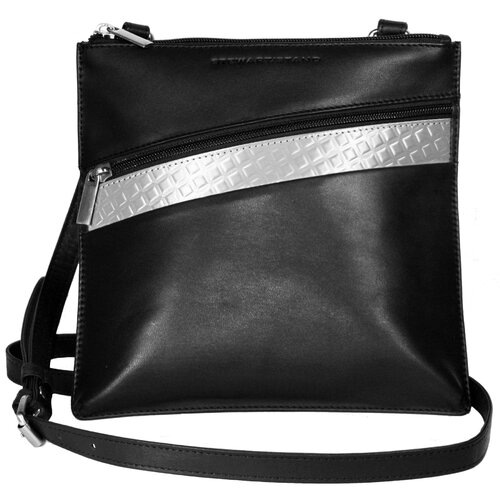 RFID Blocking Color Block Cross-Body Bag