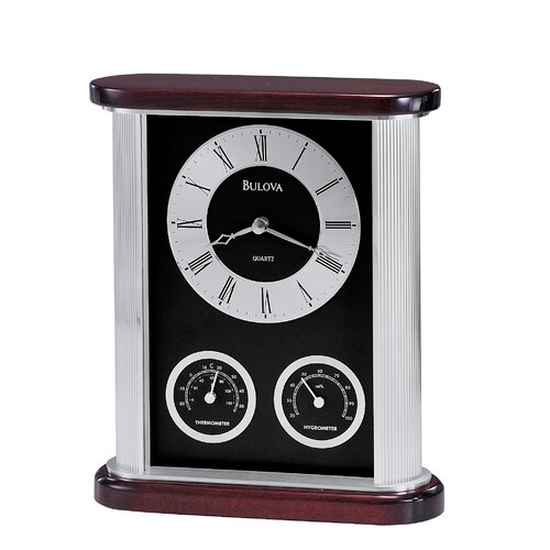 Bulova Belvedere Executive Clock
