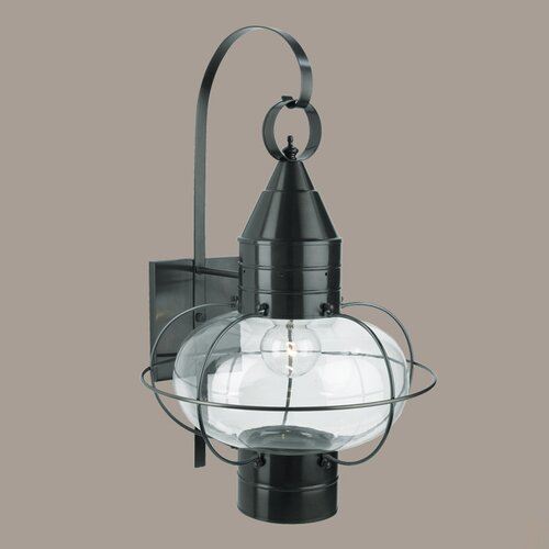 norwell lighting classic onion large 1 light outdoor wall lantern. Black Bedroom Furniture Sets. Home Design Ideas