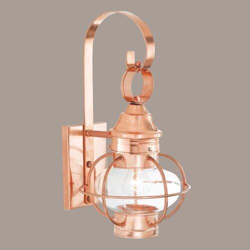 Norwell Lighting New Vidalia Onion Small 1 Light Outdoor Wall Lantern