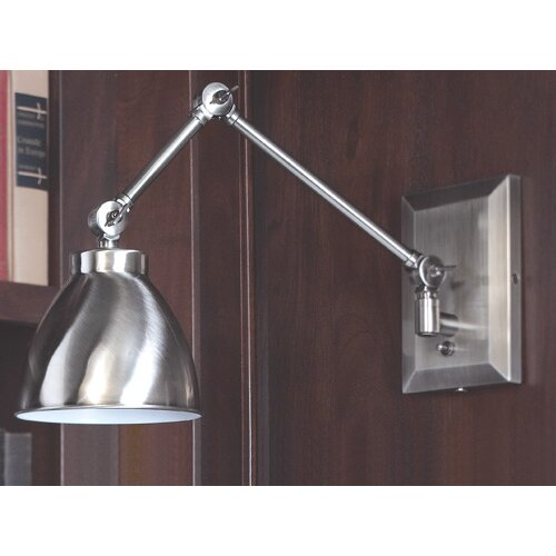 Norwell Lighting Maggie Swing Arm Wall Sconce
